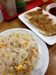 焼き飯と餃子