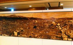 原爆投下後の長崎市街
