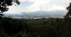 高良山から