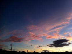 唐津の夕陽
