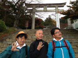 竈戸神社前