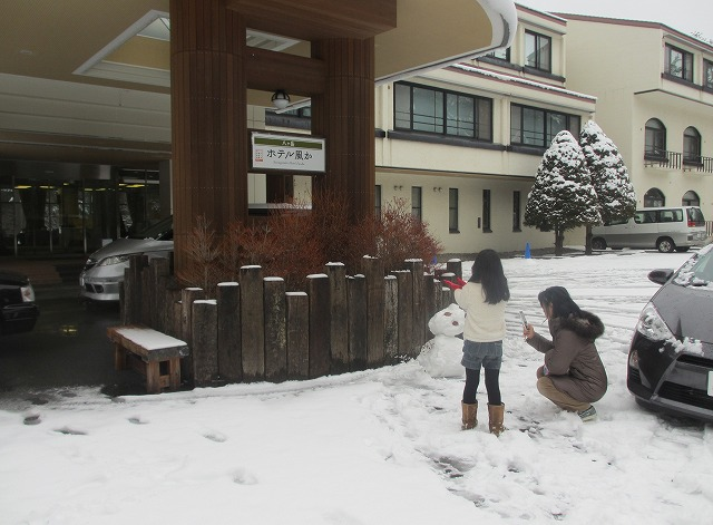 20121222ホテル風かの雪景色 (4)