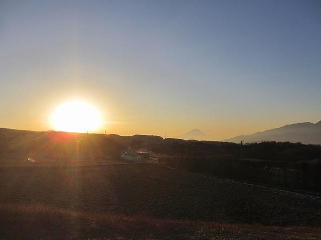 20130108宿直明け富士山 (1)