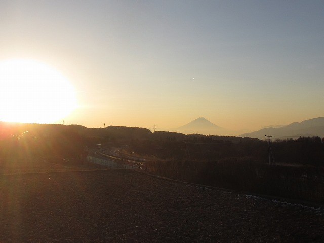 20130108宿直明け富士山 (2)