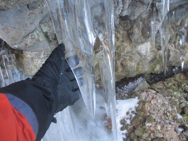 20130110滝へ6 つらら (3)