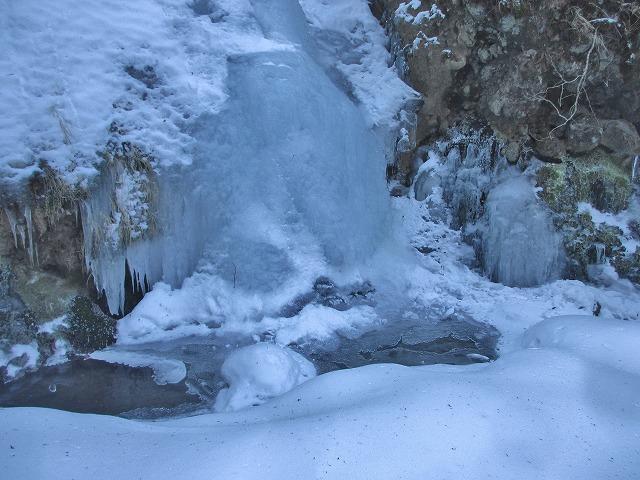 20130110滝へ6 滝壺