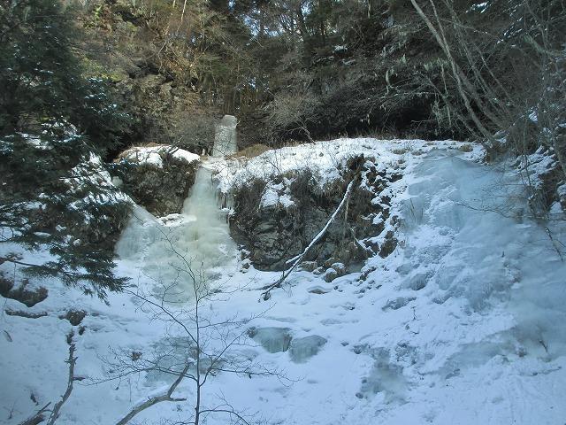20130110滝へ8 二の滝 (1)
