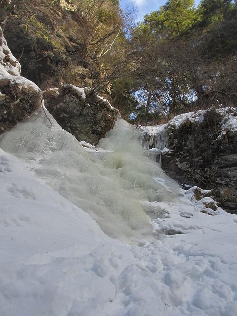 20130110滝へ8 二の滝 (3)