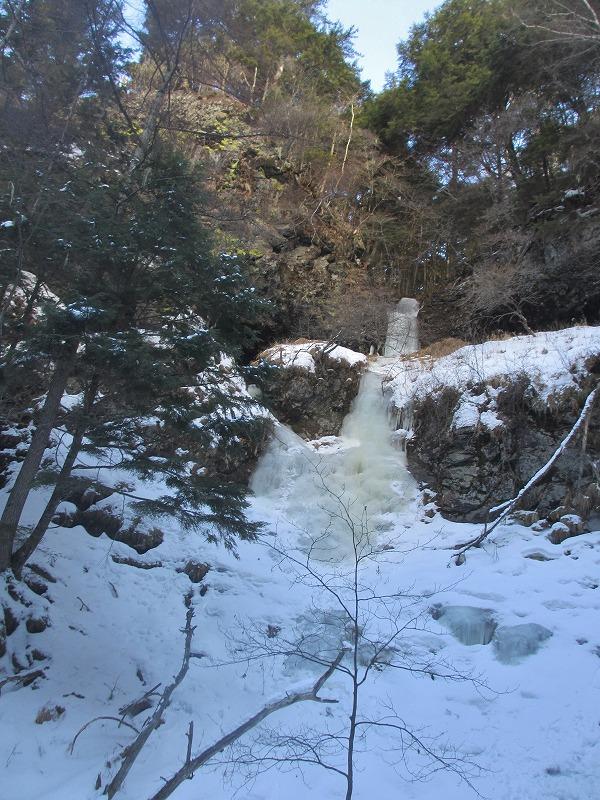 20130110滝へ8 二の滝 (2)