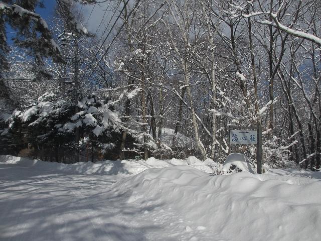 20130216悠心荘の大雪の朝 (3)