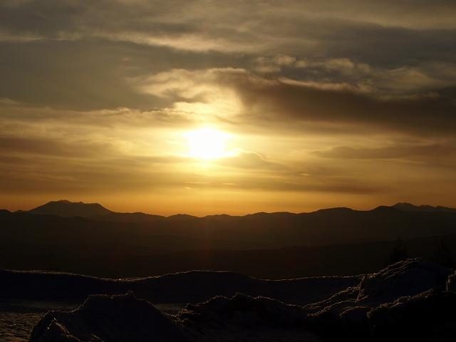 20130312夕陽が綺麗に