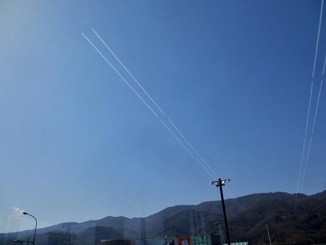 20130406飛行機雲みたいな (1)