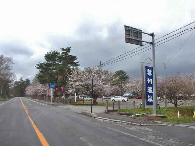 20130430聖光寺満開へ (1)