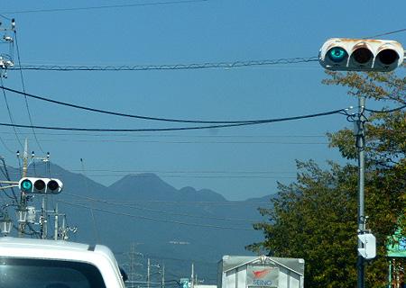 榛名富士が正面