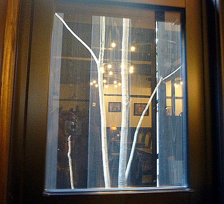 定番席の窓