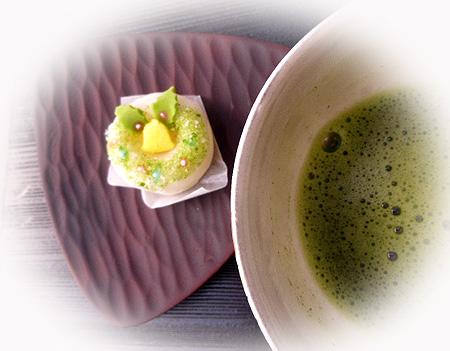 リ-ス&お抹茶