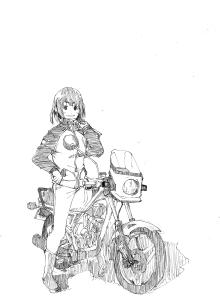 $マンガ 僕たちの映画研究会-KawasakiAR50×女の子
