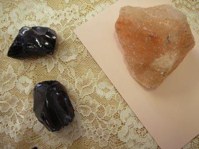 岩塩、ストーン