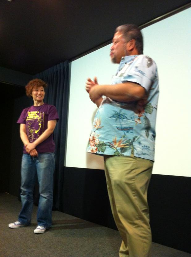 太田辰郎さん、岡本かおりさん