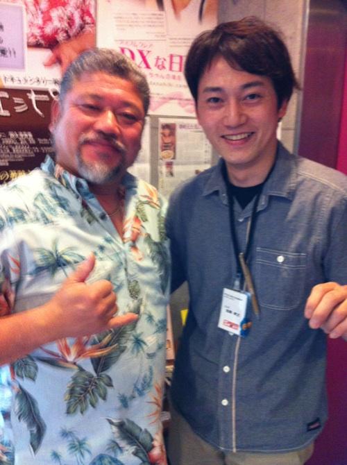 太田辰郎さん、スタッフと