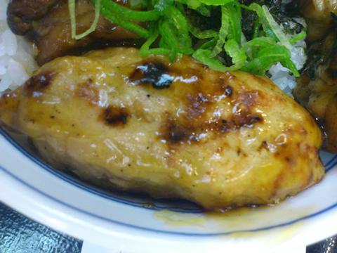 吉野家鶏つくね丼 (1)