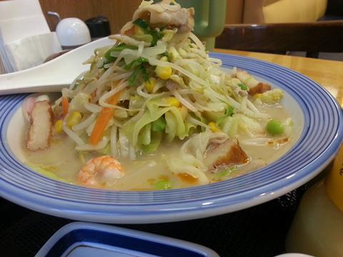 野菜たっぷりちゃんぽん (1)