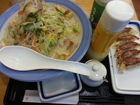 野菜たっぷりちゃんぽん (2)