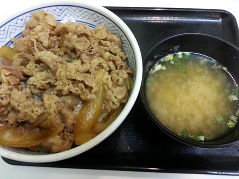 吉野家新牛丼 (2)
