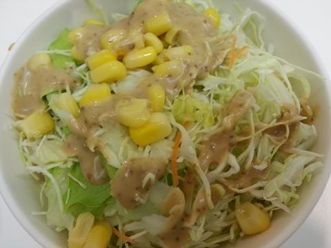 吉野家生野菜サラダ (1)