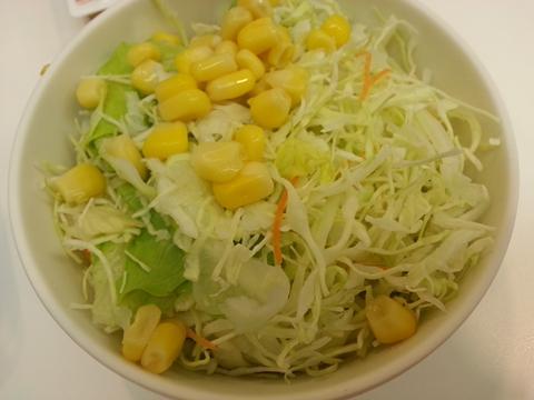 吉野家生野菜サラダ (2)