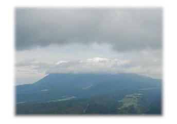 7.16 三平山山頂より大山