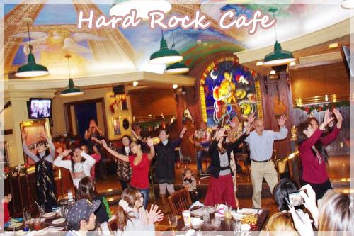 Hawaiian live in Hard rock cafe