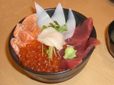 五福海鮮丼