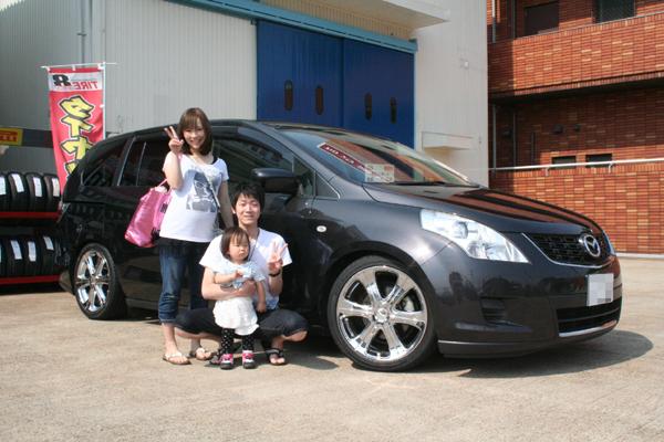 MPV  LY3P  HKS車高調