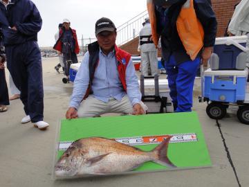 大物賞の真鯛