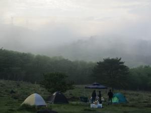 初キャンプ①