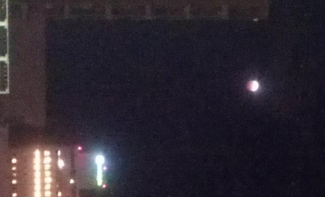 皆既月食7時
