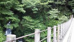 上州ツー・03・一番滝と吊り橋