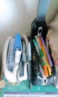 何か色々ハミ出している筆箱