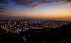 神戸の黄昏