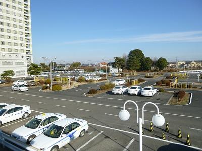 ホテル側半景