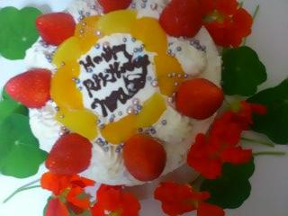 2013.4.25 お誕生の日ケーキ