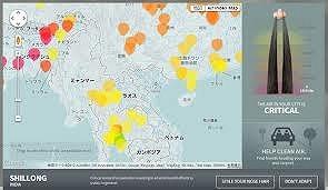 アジア鼻毛マップ1