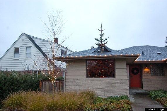 イカしたクリスマスツリー