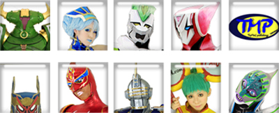 TIGER&BUNNY TMP COSPLAY