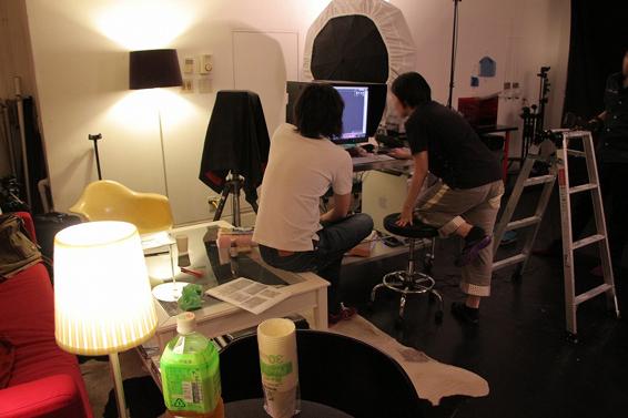 COSMODE撮影現場 (3)