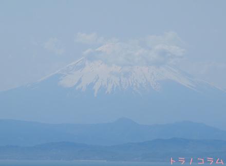 富士山と雲・・・・・