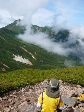 2012/7/8 家族登山第一弾 上富良野岳~ カミホロカメ トック十勝岳は断念…