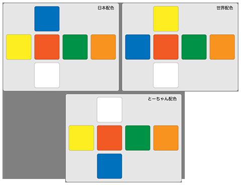 ルービックキューブ配色-04