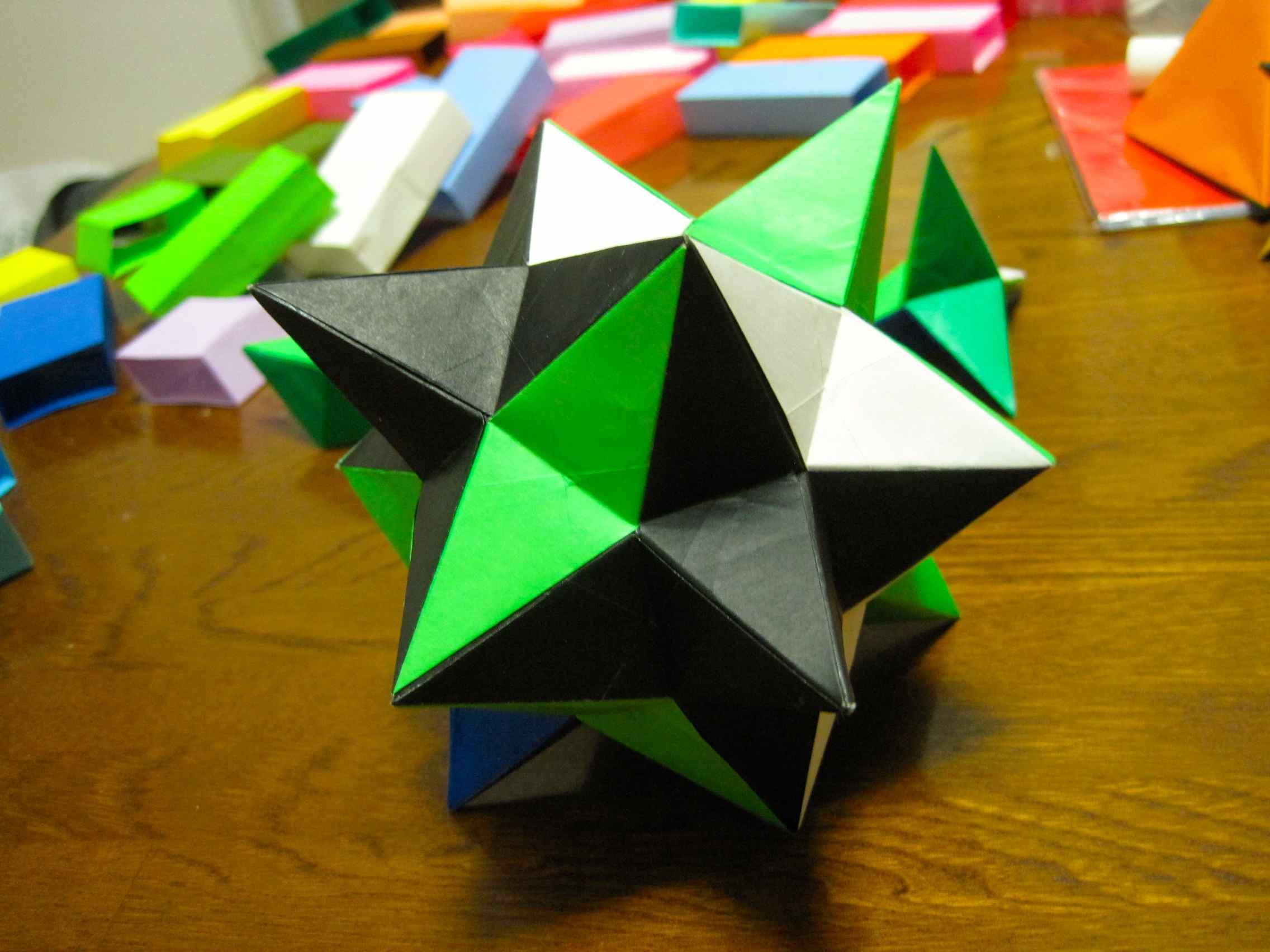 すべての折り紙 折り紙 多面体 : Origami Paper Folding Art